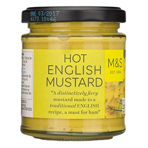 Marks & Spencer M&S Hot English Mustard 180g From the -