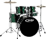 Pacific Drums by DW Z5 Shell PACK (Cymbals + Hardware not included) - Emerald