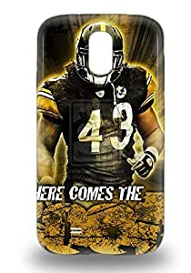 Top Quality Case Cover For Galaxy S4 Case With Nice NFL Pittsburgh Steelers Santonio Holmes #10 Appearance ( Custom Picture iPhone 6, iPhone 6 PLUS, iPhone 5, iPhone 5S, iPhone 5C, iPhone 4, iPhone 4S,Galaxy S6,Galaxy S5,Galaxy S4,Galaxy S3,Note 3,iPad Mini-Mini 2,iPad Air )
