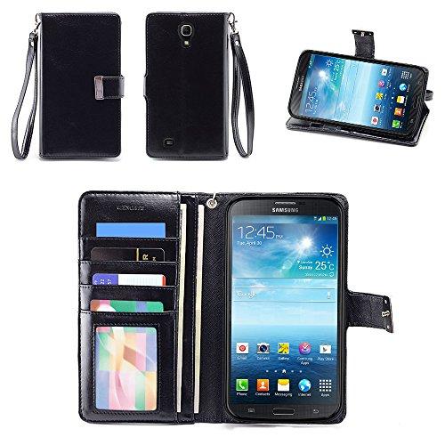IZENGATE Executive Premium PU Leather Wallet Flip Case Cover Folio Stand for Samsung Galaxy Mega 6.3 (I9200) - Att Samsung Galaxy Cases Mega