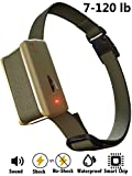 #9: Newest [2018 SUPERHUMAN CHIP] Bark Collar with Smart Detection Module - Best Dog Shock, Beep Anti-Barking Collar. No Bark Control for Small/Medium/Large Dogs - Stop Barking Safe Humane