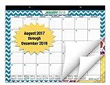 """Desk Calendar 2018 - 22""""x17"""" - (Runs from NOW through December 31, 2018) (1 Pack)"""