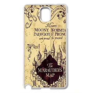 Harry Potter - Hogwarts - The Marauder's Map Productive Back Phone Case For Samsung Galaxy NOTE3 Case Cover -Pattern-18