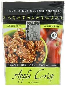 Paleo People Gluten Free Fruit & Nut Clusters, Apple Crisp, 5 Ounce (Pack of 3)