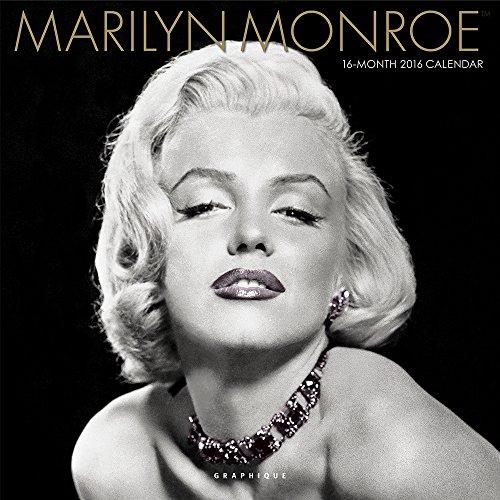 Amazon Com Graphique Marilyn Monroe 2016 Wall Calendar Cy6116