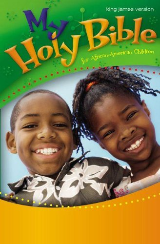 KJV, My Holy Bible for African-American Children, Hardcover