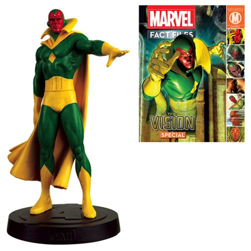The Collector Marvel Costume (Marvel Fact Files Special #12 The Vision Figure with Collector Magazine)