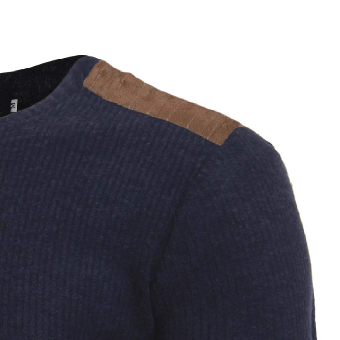 Coolred-Men Business Winter Stitch Plus Size Leisure Pullover Sweater