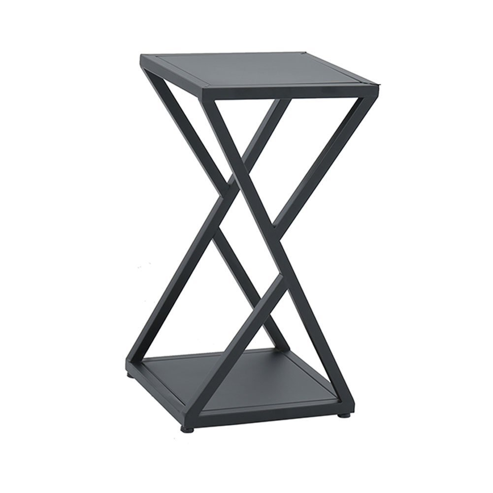 CSQ Creative Flower Stand, Plant Stand, Iron Frame Geometry Line Structure Living Room Bedroom Balcony Flower Pot Ornaments Shelf (Color : A, Size : 303060CM) by Flowers and friends