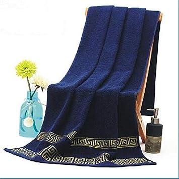 Juego de toallas bordadas de bambú para la playa y la playa, 100% algodón, para adultos, de alta calidad, suaves: Amazon.es: Hogar