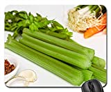 Mouse Pads - Soup Greens Celery Vegetables Food Healthy Diet