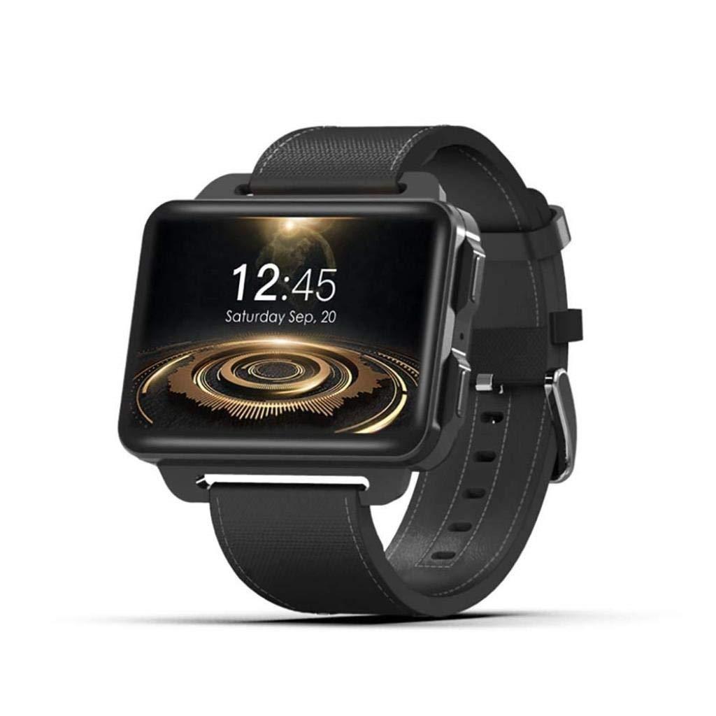 スマートウォッチスマートブレスレット大画面Android 5.1 Wifi/Gps / 3 g通話/モニターウォッチ B07QPJKNQK ブラック