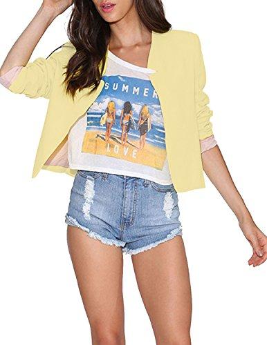 HaoDuoYi Womens Casual Blazer Jacket product image