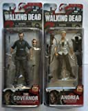 The Walking Dead Series 4 - The Governor and Andrea Set of 2 Action Figures.