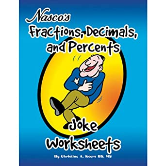 Amazon.com: Nasco TB23191T Fractions, Decimals, and Percents Joke ...