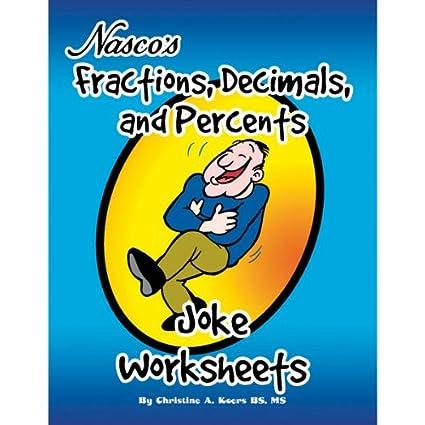 Amazon.com: Nasco TB23191T Fractions, Decimals, and Percents Joke ...