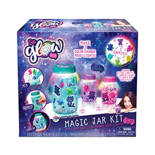 (Canal Toys So Glow DIY Magic Jar Kit-Combo Glitter Water (25Piece),)