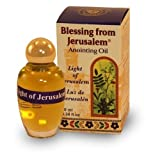 Anointing Oil with Biblical Spices from Jerusalem 0.34oz (10ml) (Light of Jerusalem)