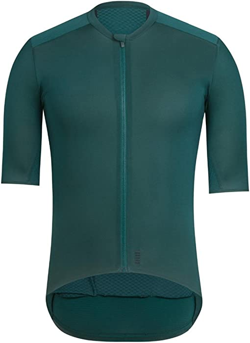 6ec6c1c6 Amazon.com: Cycling Jersey Short Sleeve 2018 Dark Green Coolest ...