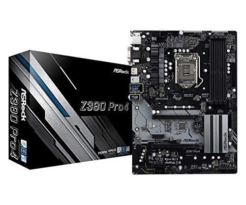 ASRock 90-MXB6T0-A0UAYZ Newcomer in the range, Mainboards ASRock Z390 Pro 4, Intel Z390 - Sockel 1151 Black