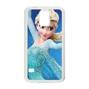 Samsung Galaxy S5 Case Elsa Dancing for Guys, Samsung Galaxy S5 Cases for Women Stevebrown5v, [White]