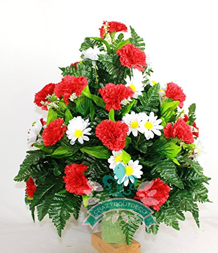 xl-beautiful-spring-red-carnations-and-white-daisies-cemetery-flowers-for-a-3-inch-vase