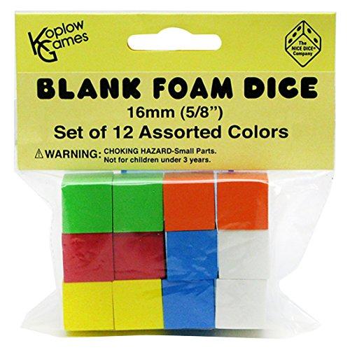 Foam Blank Dice - 4