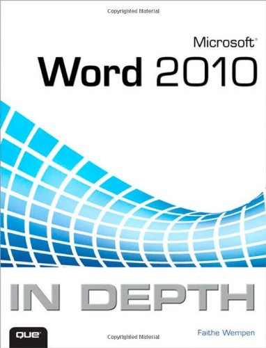 Price comparison product image Microsoft Word 2010 In Depth