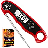 Digital Meat Thermometer - Best Waterproof Instant Read...
