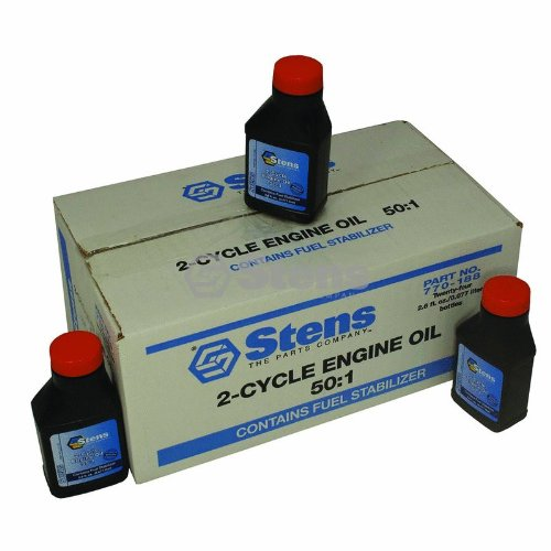 Stens 50:1 2-Cycle Engine Oil Mix / Stens Sold per case 2.6 oz. bottle