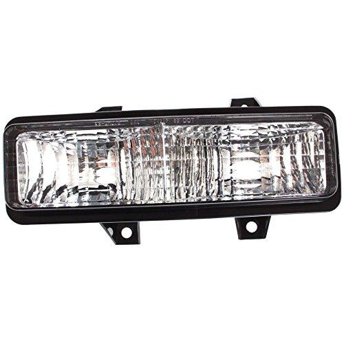 Evan-Fischer EVA22272012899 Park Lamp for Chevrolet Suburban 89-91 / Van Full Size 92-96 Left Lens and Housing Below Dual Head Lamps