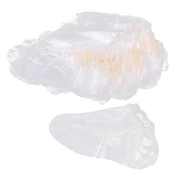 Baoblaze 100x Bolsas de Plástico Desechables para Pies ...