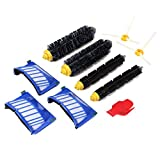 Sikye Vacuum Cleaning Robots Replace Part,4pcs Filters+6pcs Side Brushes for iRobot Roomba 870 800 900