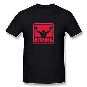 HM Men's Tees Boxing Size L Black