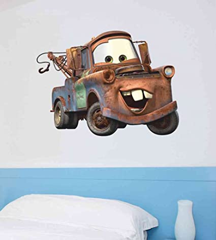 Decals Design U0027Mater Caru0027 Wall Sticker (PVC Vinyl, 50 Cm X 70