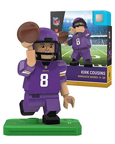 Kirk Cousins OYO Sports Minnesota Vikings Generation 4 G4 Minifigure