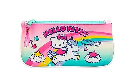 Hello Kitty Candy Unicorns Oficial Estuche Escolar 230x110mm ...