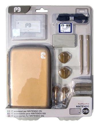 Pergiocare - Kit de 17 accesorios para Nintendo DSi (con ...