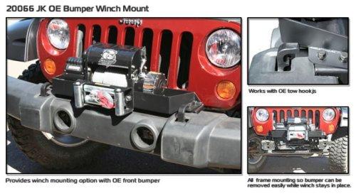 Bulldog 20066 Winch Mount for Jeep JK