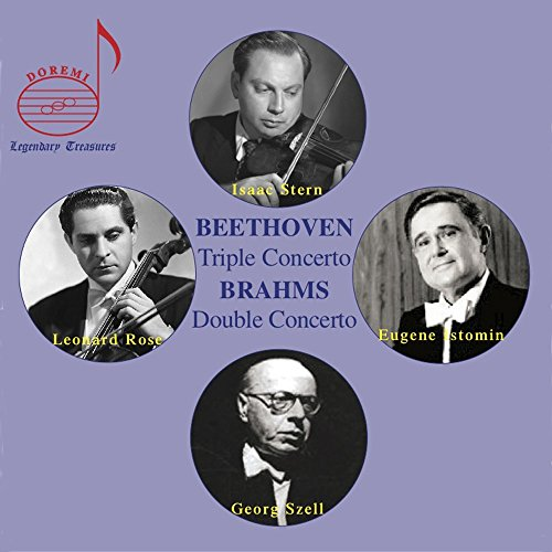 Beethoven: Triple Concerto - Brahms: Double Concerto (Beethoven Triple Concerto Best Recording)