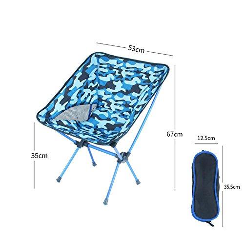 Compact De Camping Chaise D'extérieur Pliantes Chaises Confortable CdtrQxsh