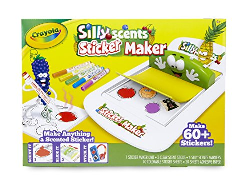 Crayola Silly Scents Sticker Maker, Gift for Kids, Ages 6, 7, 8, -