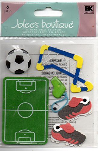 - Jolee's Boutique Dimensional Stickers-Kid's Soccer