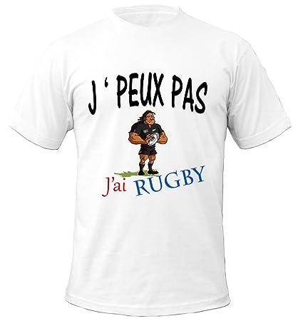 T-Shirt Premium Blanc JPeux Pas Jai Ap/éro id/ée cadeau humour