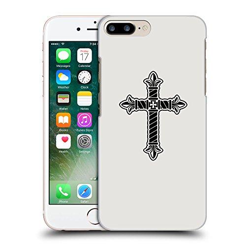 GoGoMobile Coque de Protection TPU Silicone Case pour // Q07960631 Christian Cross 21 Platine // Apple iPhone 7 PLUS