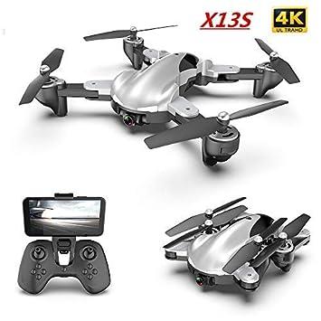 htfrgeds Drone 4K Quadcopter Video en Vivo GPS Drones, 120 ° Gran ...