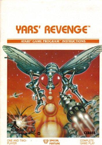 Yars' Revenge 2600 Instruction Booklet (Manual Only - NO GAME) (Atari Video Game Manual)