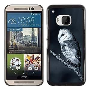 Be Good Phone Accessory // Dura Cáscara cubierta Protectora Caso Carcasa Funda de Protección para HTC One M9 // The White Night Owl