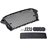 Amazon Com Euro Rs3 Style Front Sport Hex Mesh Honeycomb Grill