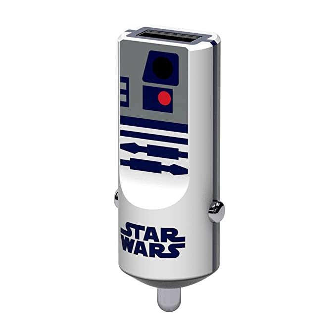 2 opinioni per Tribe Star Wars 2.4 A Caricabatteria da Auto Fast Charge I Caricatore USB
